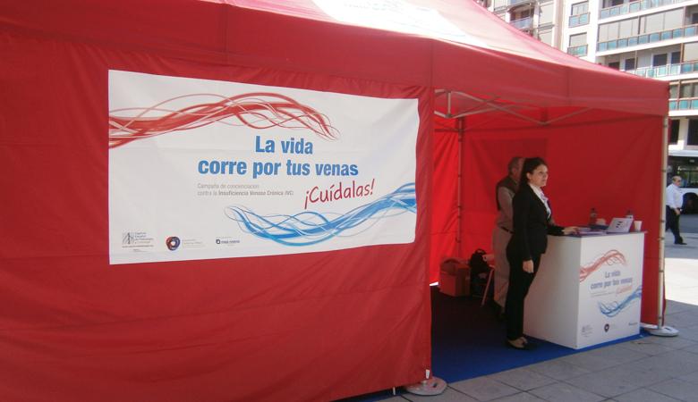 2ª campaña itinerante sobre la Insuficiencia Venosa Crónica
