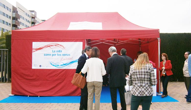 Campaña de prevención de las varices y la IVC: Madrid