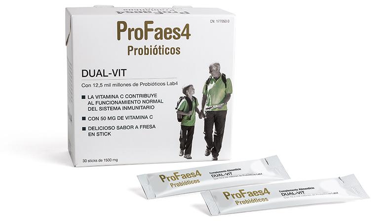 Profaes4 DUAL-VIT Bodegón de producto