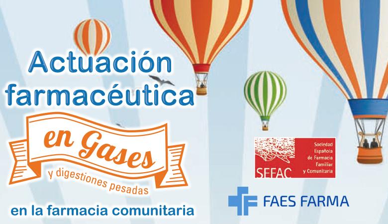 Documento de actuación farmacéutica en gases y digestiones pesadas elaborado por SEFAC.