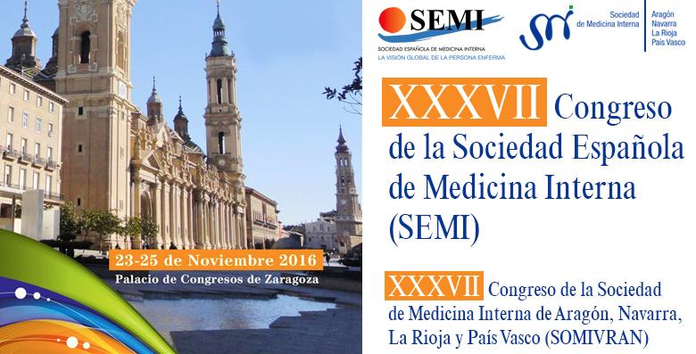 XXXVII Congreso Nacional de la Sociedad Española de Medicina Interna