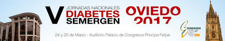 Portada de las V Jornadas Nacionales Diabetes Semergen