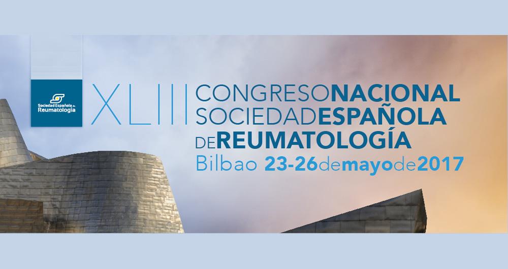 Portada del XLIII Congreso de la Sociedad Española de Reumatología