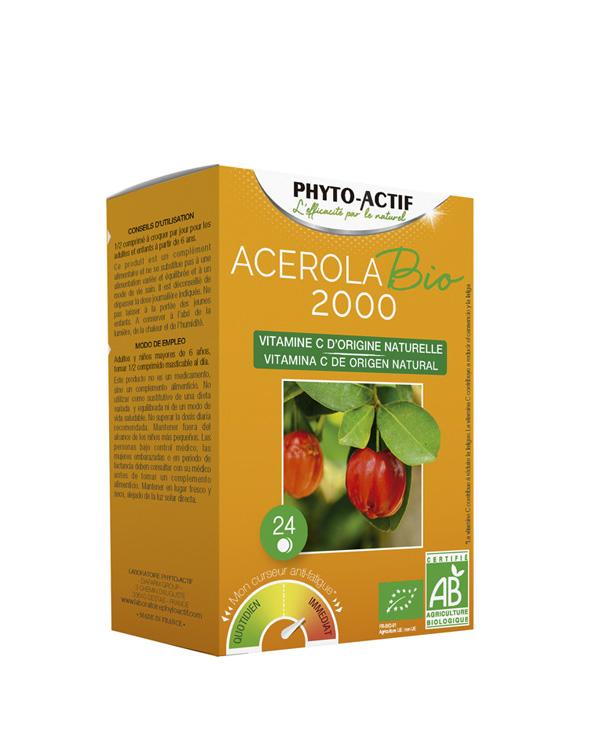 Phyto-Actif® Acerola 2000 Bio