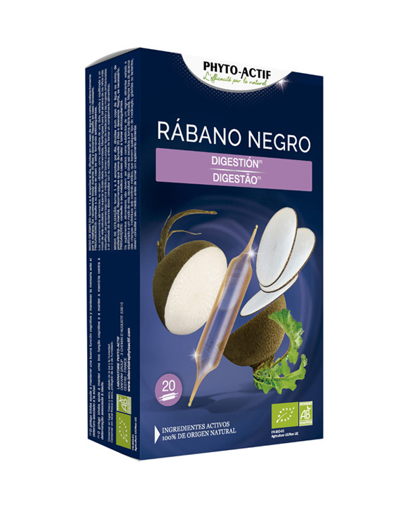 Phyto-Actif® Rábano negro ECO AB 20 ampollas