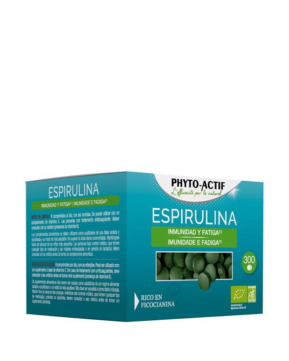 Phyto-Actif® Espirulina ECO 300 comprimidos