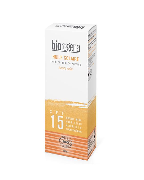 Bioregena aceite solar SPF 15