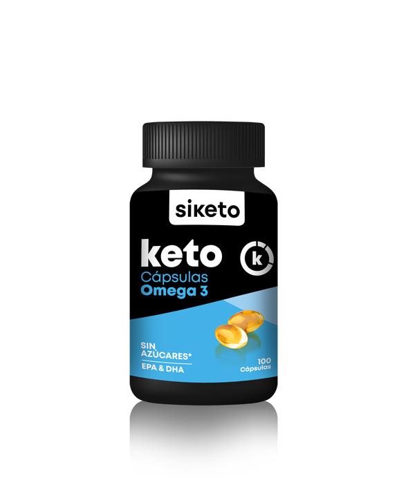 Siketo omega 3 100 cápsulas