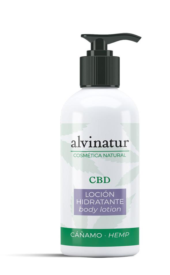 Alvinatur Loción Hidratante CBD