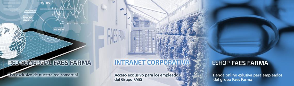 Fundido imagen webs FAES FARMA